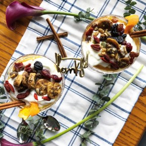 Spiced Apple Compote – Greek Yogurt Parfait with Slow-Cooked Warming Spices