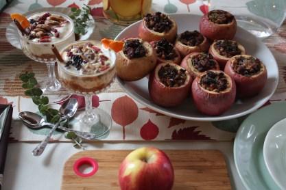 Spiced Apple Compote - Greek Yogurt Parfait - Where the BlueBoots Go