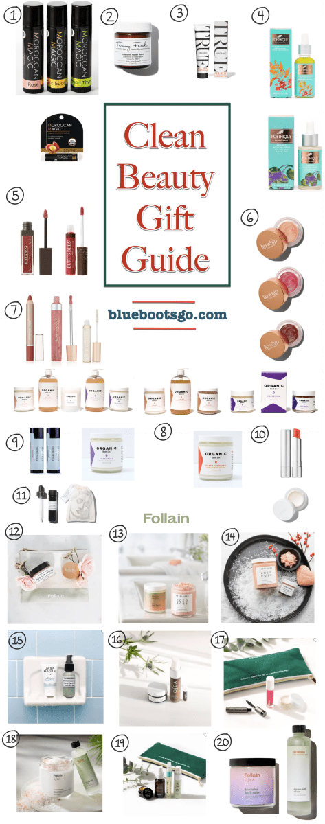 Clean Beauty Guide Holiday 2018