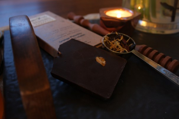 elements truffles orange pistachio