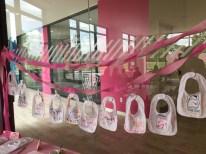baby girl bib decorating contest baby shower