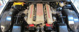 隠れたおしゃれです!フェラーリ 575M エンジンルームクリーニング