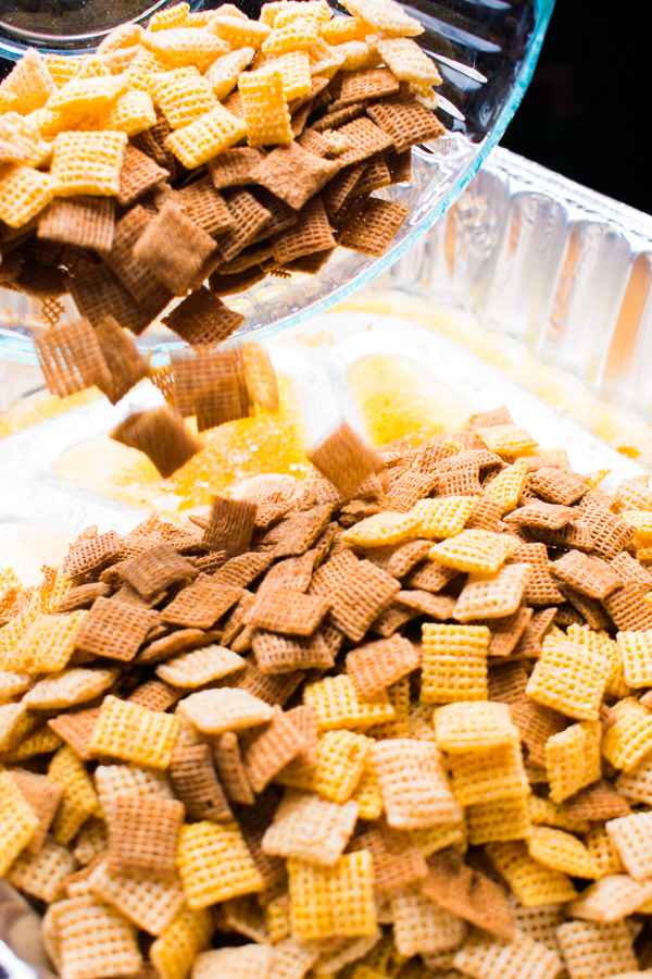easiest homemade chex mix