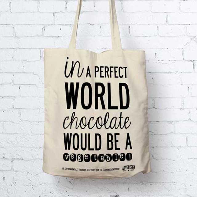 Tygkasse - Choklad Image