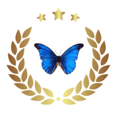 medal-Butterfly