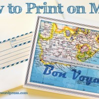Printing on Maps
