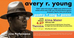 Poetry + Power: Avery R. Young @ Honey at Alma Matter