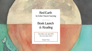 Red Earth Book Launch & Reading @ VIRTUAL EVENT
