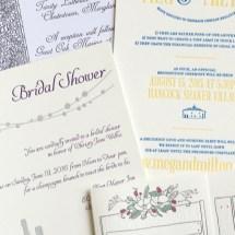 Wedding Invitation Collage