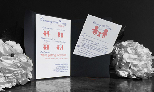 The 2 rules of wedding invitation design stopboris Image collections