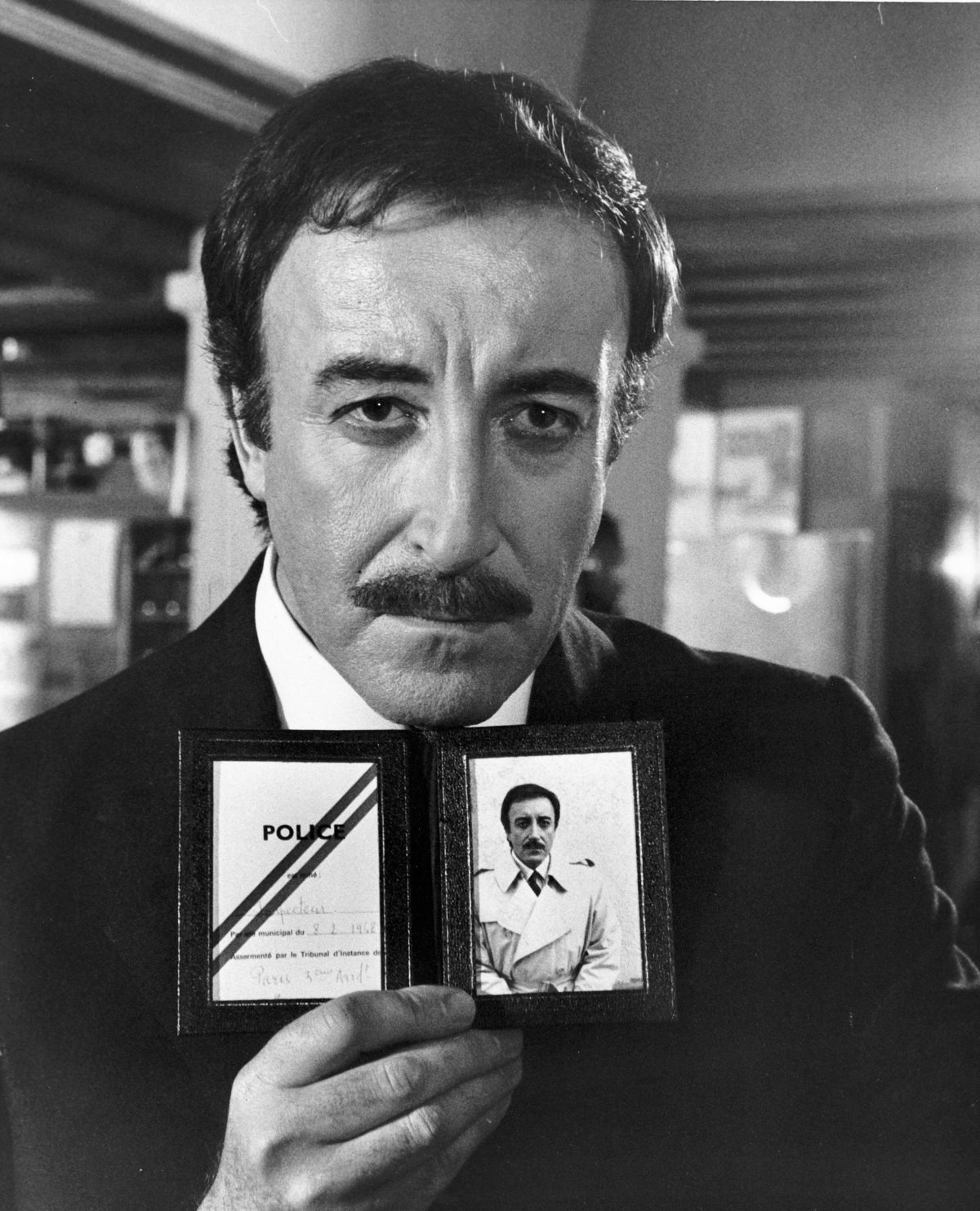 Peter Sellers (as Chief Insp. Jacques Clouseau) The Return of the Pink Panther (1975) Directed by Blake Edwards  1976 Supplied by WENN This is a PR photo. WENN does not claim any Copyright or License in the attached material. Fees charged by WENN are for WENN's services only, and do not, nor are they intended to, convey to the user any ownership of Copyright or License in the material. By publishing this material, the user expressly agrees to indemnify and to hold WENN harmless from any claims, demands, or causes of action arising out of or connected in any way with user's publication of the material.