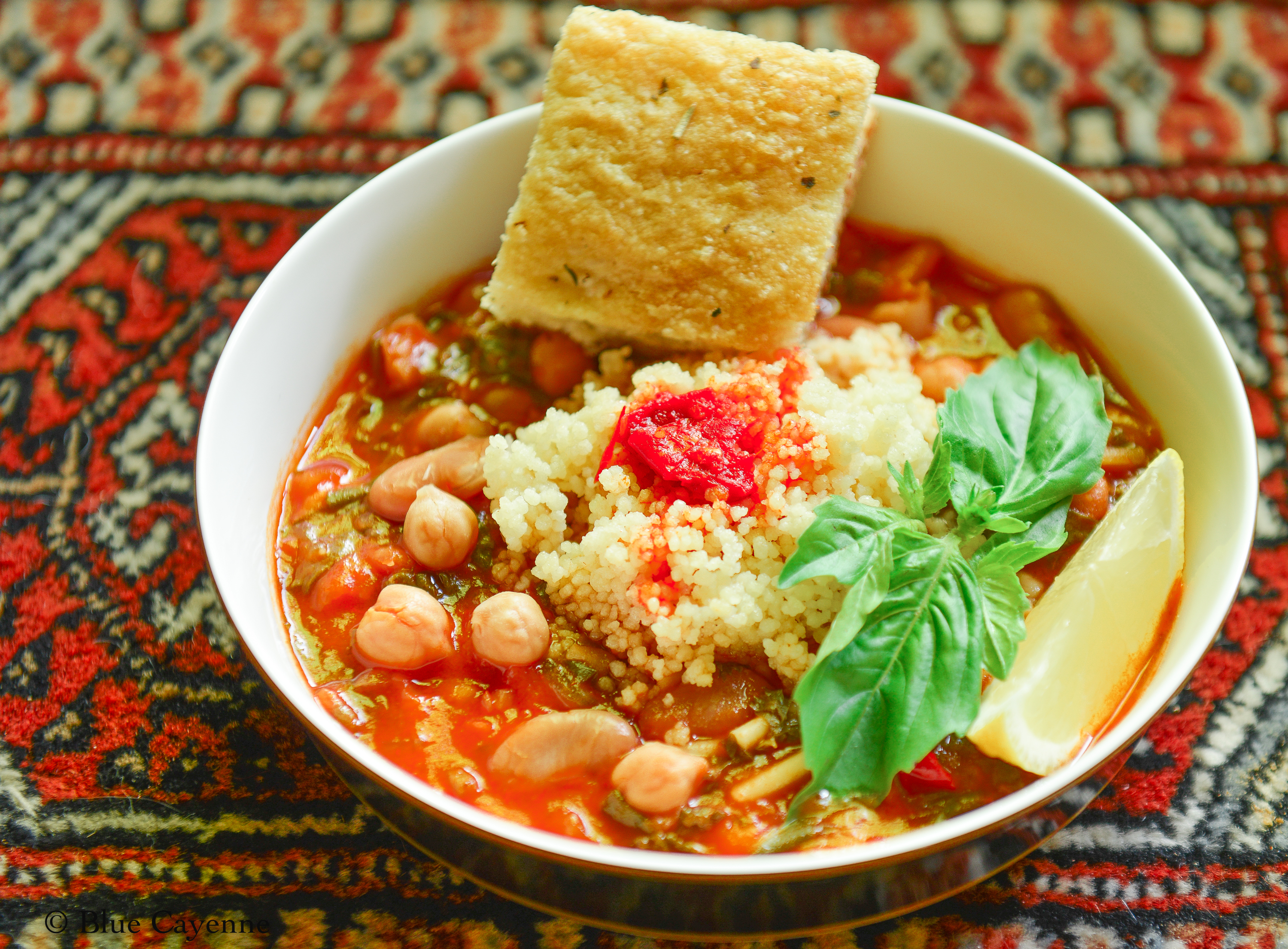 Your Guests Will Bless Your Hand: Hlelem (Tunisian Bean Soup)