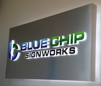 Our Lobby Sign