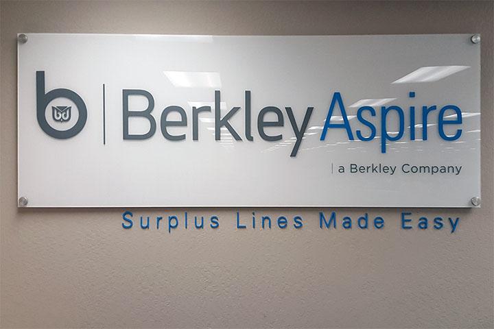 Custom Business Lobby Sign