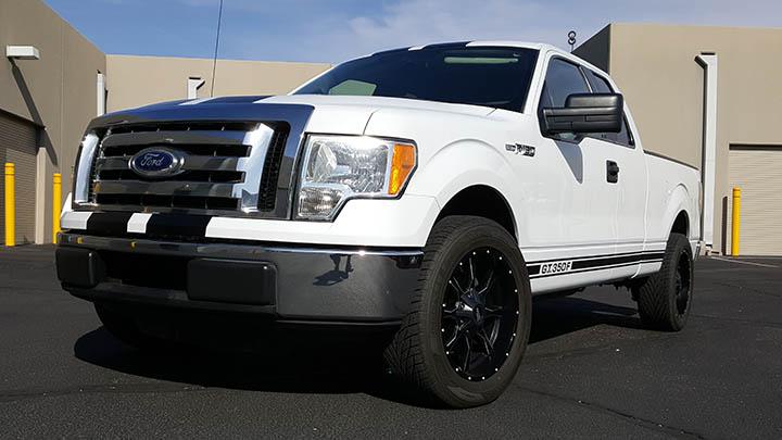 Custom Car Decals Blue Chip Signworks Phoenix Mesa AZ - Truck decals custom
