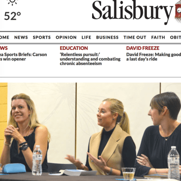 Nov. 2017: Pryal featured in SALISBURY POST with fellow authors