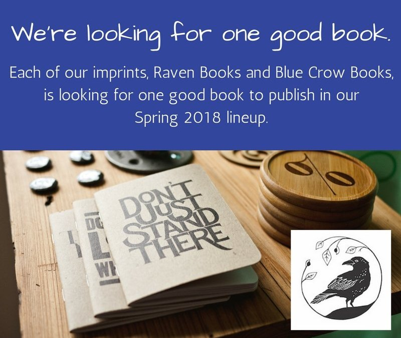 Fall Call: We're Looking for One Good Book