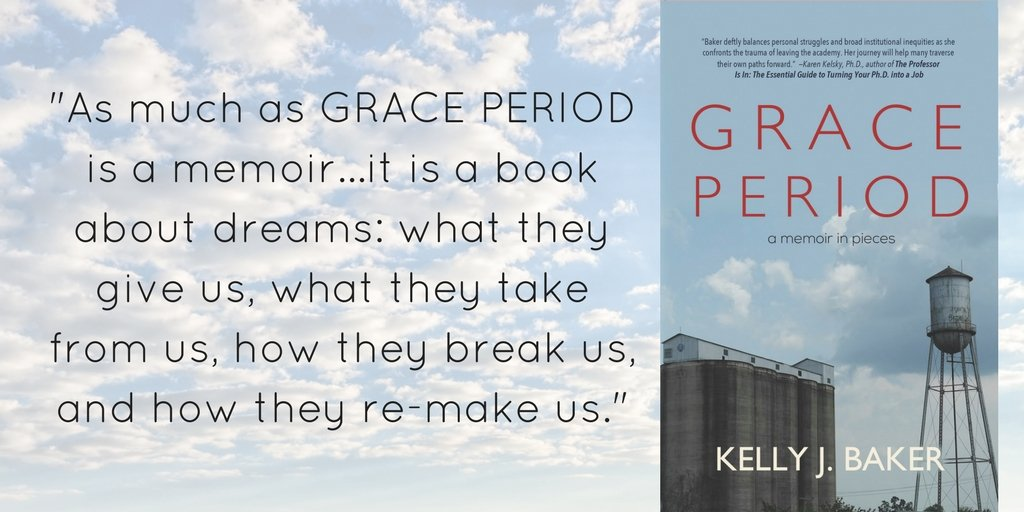 "Book Review: ""Kelly Baker's dreams resonate in GRACE PERIOD"""