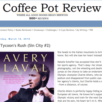 March 2018: Review of Laval's A TYCOON'S RUSH