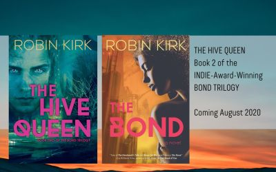 Get ready for THE HIVE QUEEN, next in the award-winning The Bond Trilogy