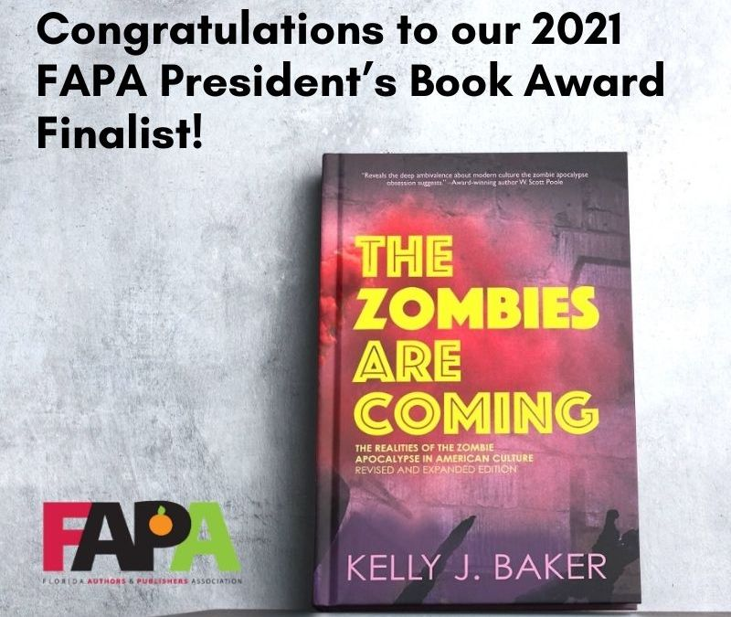 THE ZOMBIES ARE COMING is Finalize for FAPA President's Book Award!