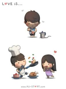HJ story, cook, love