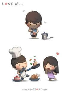 HJ story, cook, love