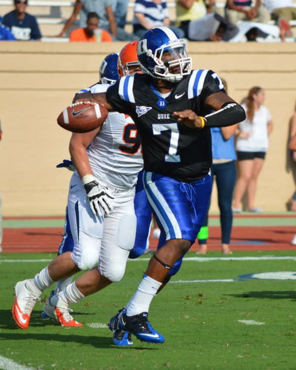 Blue Devil Nation: Duke QB Anthony Boone talks Hokies