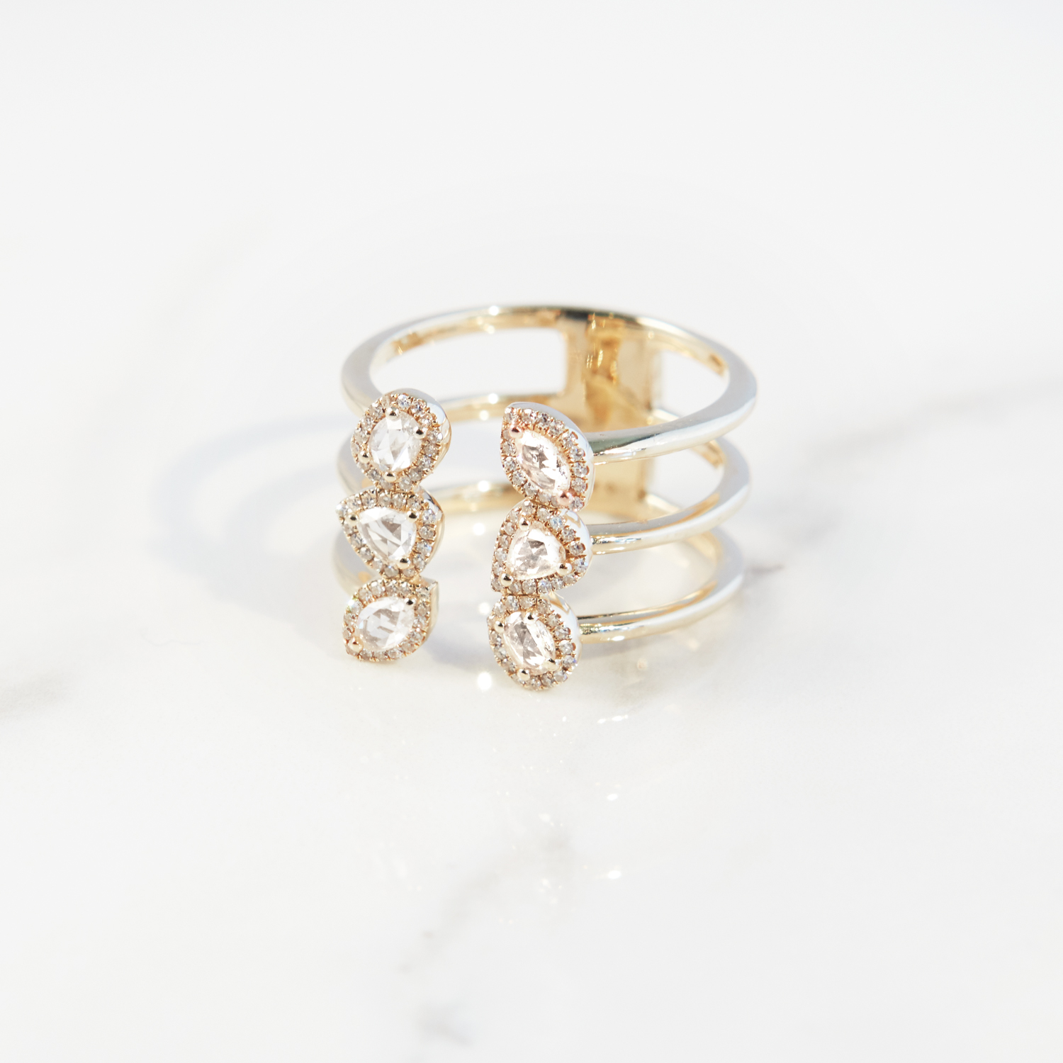 Gold Layer Ring