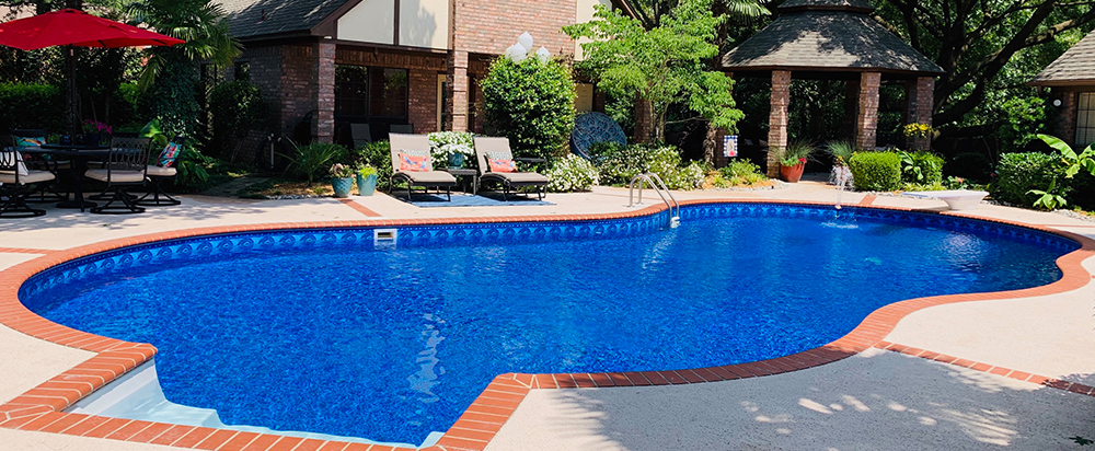 Jameson Pool Liner, Swimming Pool Liners, Liner Patterns, Pool Liners, North Carolina Pool Service, High Point Pool Service, High Point NC Pool Liners