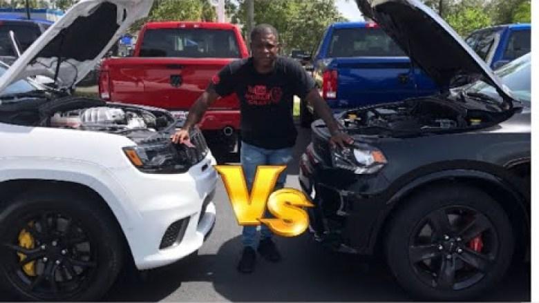 Jeep Trackhawk Vs Dodge Durango Srt Yonkers New York 2018 Bluedodge Com