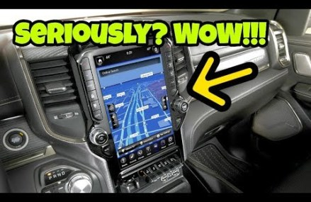A freaking 12″ Screen!!! 2019 RAM, Silverado and Ranger.. From 4693 Winter Harbor ME