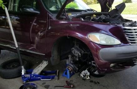 2005 Dodge Stratus Alternator Replacement at San Luis Obispo 93405 CA