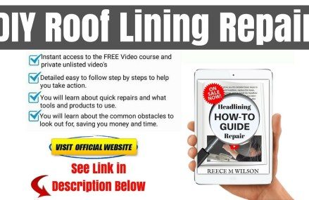 How to Repair a Sagging Roof Lining Ceiling In Your Car in Los Angeles 90030 CA