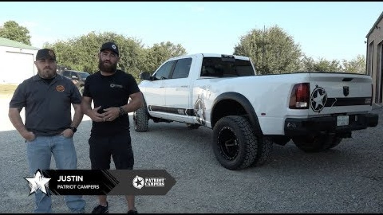 Patriot Campers - USA RAM 3500 Dually Build at 25285