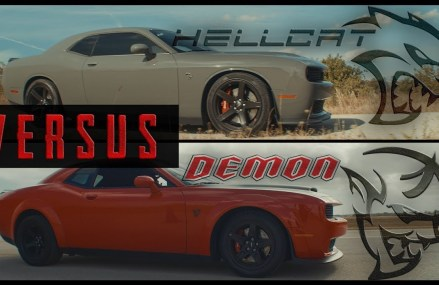 Dodge Demon vs. SRT Hellcat   1/2 Mile Drag Race // Is the 840HP Challenger Worth The Price? at Magee 39111 MS