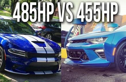 18 Scatpack Charger vs 17 Camaro SS   Highway Rolls Within Zip 41001 Alexandria KY