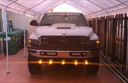 Recon 62″ BIG RIG LED Side Mounted Running Light On Dodge Ram Area Code 20460 Washington DC