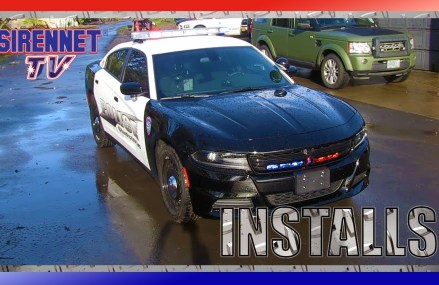 A 2017 B&W Dodge Charger Patrol Vehicle Installation For 67517 Beaver KS