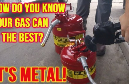 The Best Gas Can? JUSTRITE Type II Metal Safety Cans! For Merrimack 3054 NH