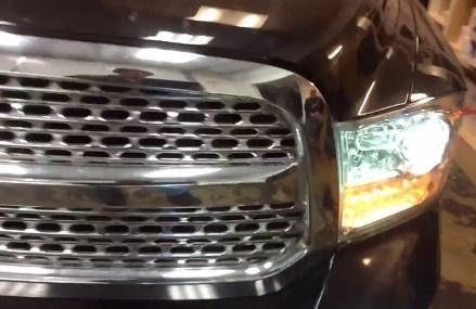 2015 Dodge Ram diesel HID LIGHTS HEADLIGHTS FOGS Found at 20261 Washington DC