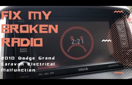 2010 Dodge Grand Caravan Electrical Malfunction – Radio VES Touchscreen From Manchester 40978 KY