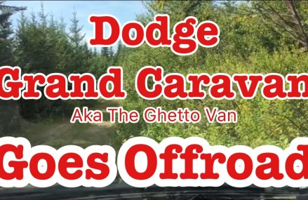OffRoading To A Lake… In a Dodge Caravan aka The Ghetto Van in Merrifield 22118 VA