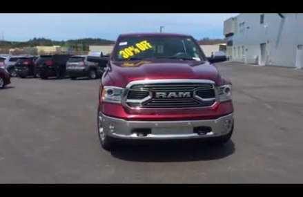 2018 Dodge Ram 1500 Laramie Limited Crew Cab 4×4 eco diesel loaded options Around Streets in 23691 Yorktown VA