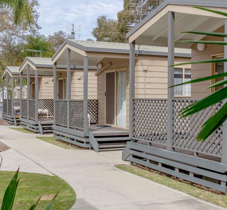 Yamba caravan park cabins