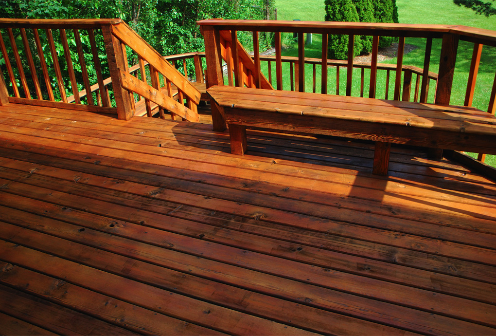 Deck & Patio Improvement by Blue Door Painting