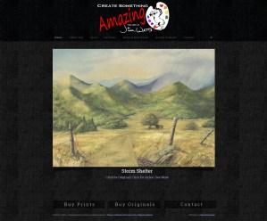 Web Design for Asheville Artist Jim Watts