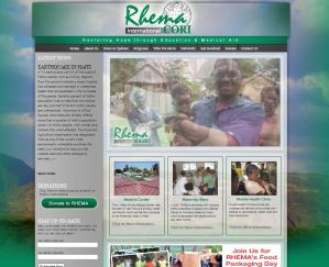 Asheville, NC Website Design for Rhema International