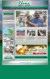 Web Design for RHEMA International