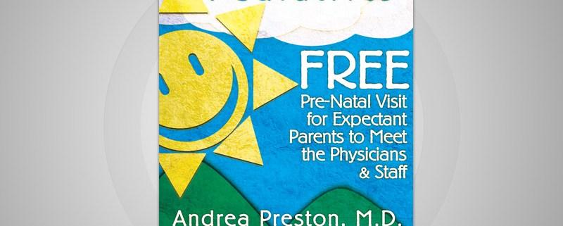 Blue Sky Pediatrics Ad Design